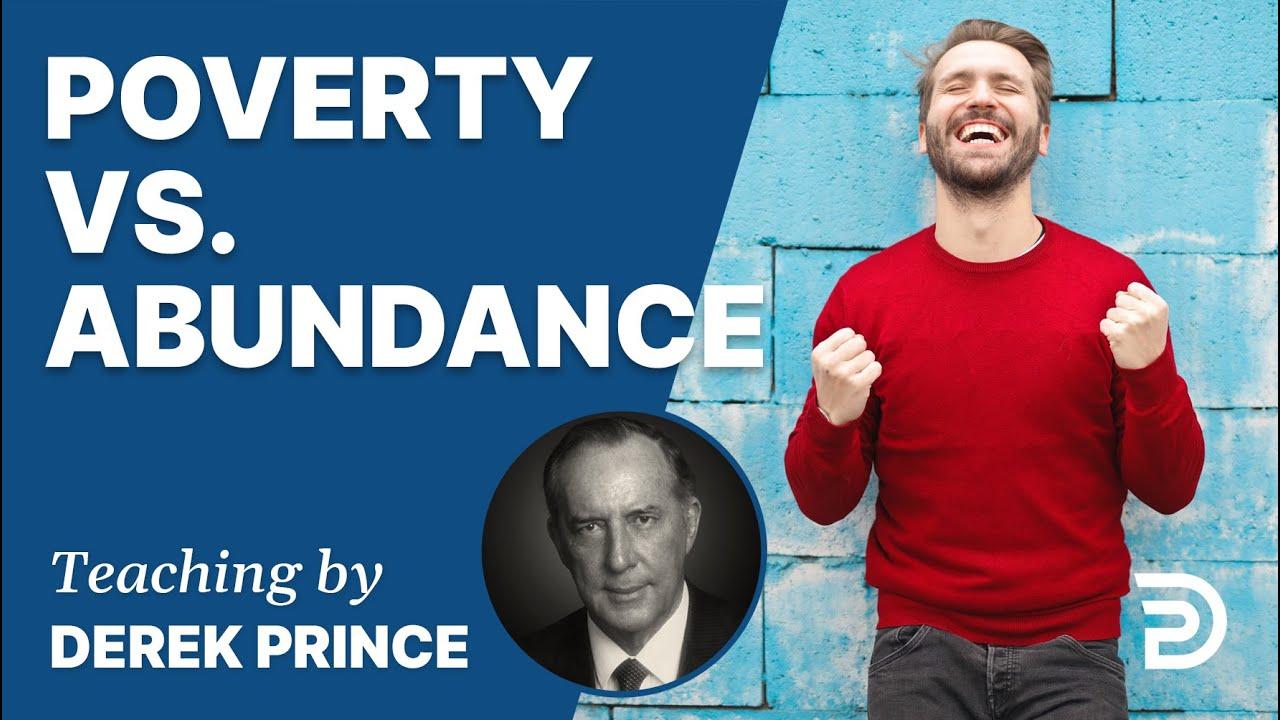 YouTube thumbnail for Poverty vs. Abundance / Shame vs. Glory