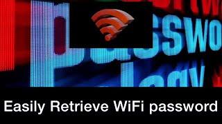Retrieve WiFi password in seconds