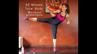 20 Minute Full Body Fat Burning HIIT Workout: No Equipment