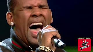 THE VOICE SURPRISE BLIND AUDITION R KELLY