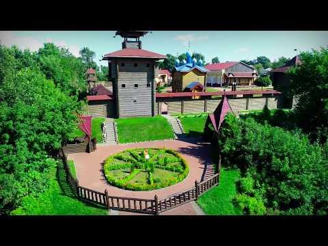 Мозырь с квадрокоптера. Mozyr City Aerial Footage.