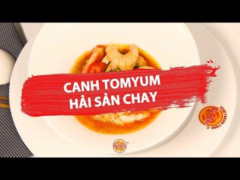 ✅CANH TOM YUM HẢI SẢN CHAY Món ngon Au Lac Vegan