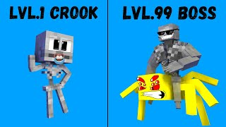 CROOK VERSUS MAFIA BOSS