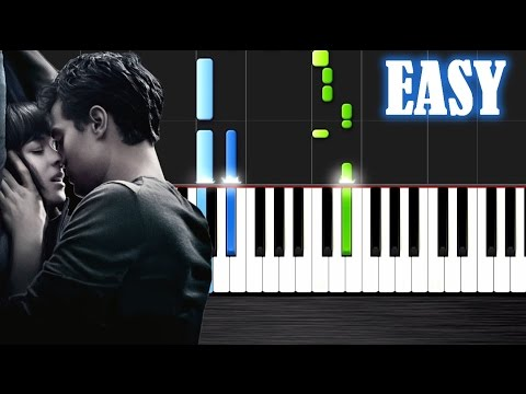 Ellie Goulding - Love Me Like You Do - EASY Piano Tutorial by PlutaX - Synthesia