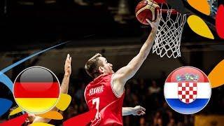 Germany v Croatia - Semi-Finals - Full Game - FIBA U20 European Championship 2018 | Kholo.pk