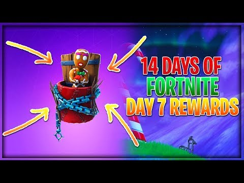 Top Five Fortnite 14 Days Of Christmas Rewards Reddit