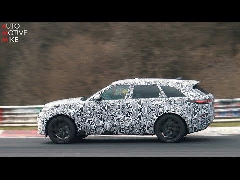Land Rover Range Rover Velar SVR 2018
