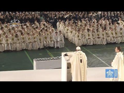 Messe avec le pape François à Tokyo