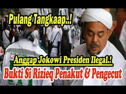 Si Rizieq Pen4-kut & Peng#cut Anggap Jokowi Presiden Il#gal! Tang-kap!