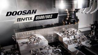 Doosan Mynx Beast CNC Machining Titanium   1st Cut   Dodeka Shell Mill