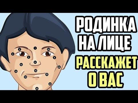 Лицо без пигментации