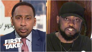 Mike Tomlin reacts to Myles Garrett accusing Mason Rudolph of using a racial slur | First Take