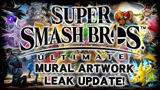 An Update to the Mural Leak - Super Smash Bros. Ultimate Leak Analysis!