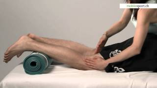 Massage Régénérateur Universel - Points D'interrogation Sur Les Jambes