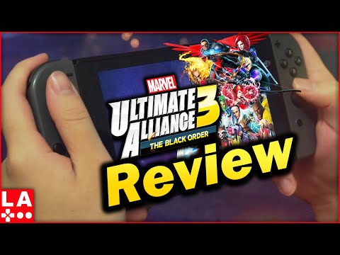 Marvel Ultimate Alliance 3 Review video thumbnail