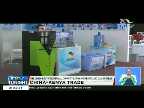 The China-Kenya industrial capacity expo enters its 2nd day
