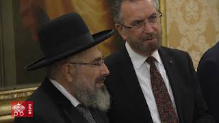 Pope Francis' Audience with Delegation of Grand Rabbinate of Israel