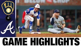 Brewers vs. Braves Spielhighlights (30.07.21) | MLB-Highlights