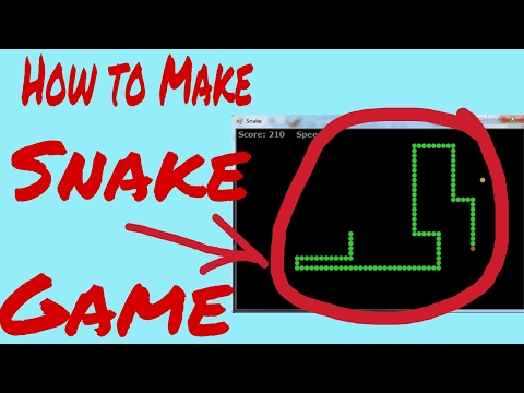 HOW TO CREATE A SNAKE GAME WITH ( NOTEPAD ) ? - смотреть