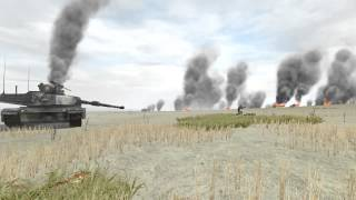 3я Мировая . Россия - США танковое сражение [ARMA2] oorlog Rusland - Verenigde Staten tank battle