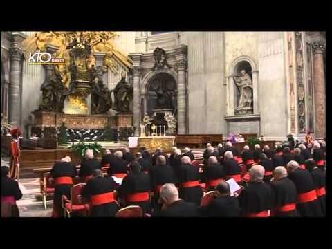Prière pour l'Église par les Cardinaux