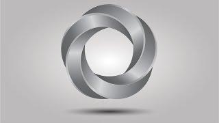 3D Logo Designs - Silver Effect in Corel Draw