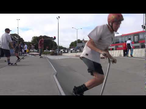 Flair Scooter Trick