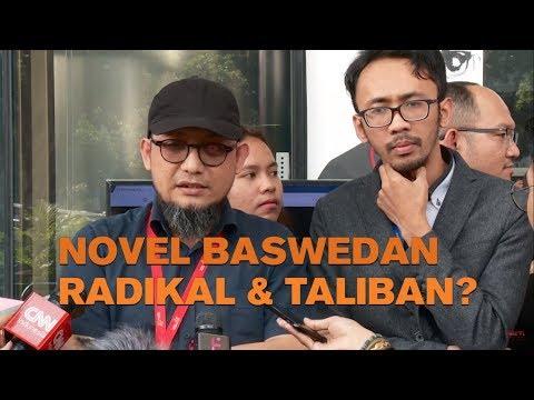 Novel Baswedan Menjawab Tudingan 'Radikal & Taliban'