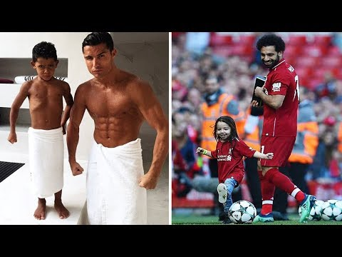 Futbolistas Famosos y Sus Hijos ● Famous Football Players and Their Kids