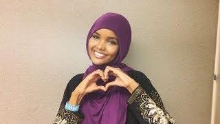 المحجبة الصومالية حليمة عدن نجمة أسبوع الموضة في لندن وأجمل اطلالاتها