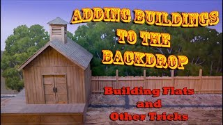 Adding Buildings To The Model Railroad Backdrop