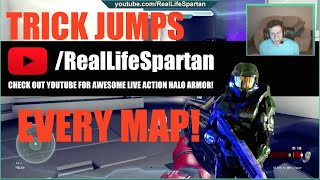 Halo 5 Trick Jumps for Every Map! - dooclip.me
