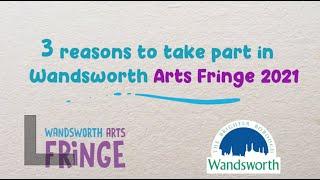 Wandsworth Art Fringe Advert