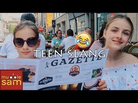 TEEN SLANG - How To Talk Like A Teenager! Words and Meanings | Mugglesam