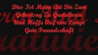 Doro Pech_In LIebe Und Freundschaft ( Geburtstagsgrüße).wmv