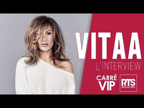 Vitaa en interview dans Carré VIP