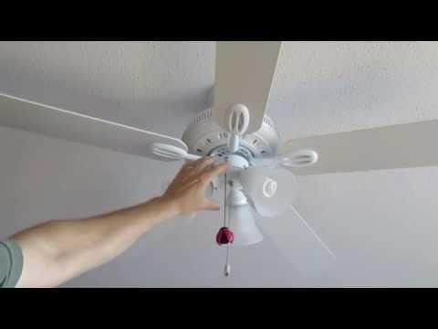 Hampton Bay Glendale Ceiling Fan Review By Owner