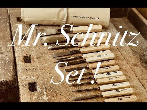👉 Mr. Schnitz🧔 BILDHAUER Schnitzeisen Set 👈  Ab Jetzt!