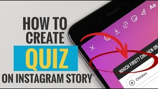 How to Create Quiz on Instagram Story