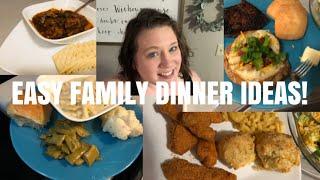 🍏🌽 WHAT'S FOR DINNER??   EASY FAMILY DINNER IDEAS   SEPTEMBER 2019