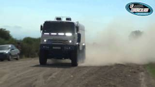 preview picture of video 'Kamaz Master Dakar 2014 probando en Funes'
