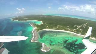 preview picture of video 'Long Island Bahamas in Velocity N55AJ'