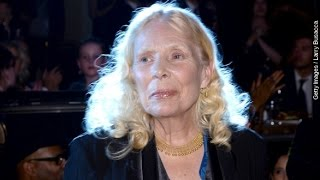 Iconic Singer Joni Mitchell Hospitalized In Los Angeles