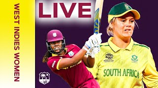 🔴LIVE FULL T20I Replay | West Indies Women vs South Africa Women | Windies