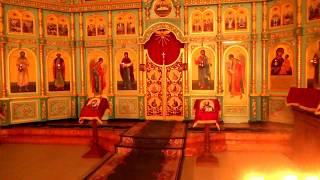 Пасхальная служба в храме