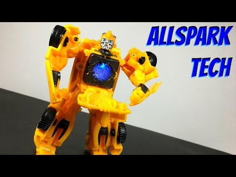 Transformers ALLSPARK TECH Talking Bumblebee Toy Review