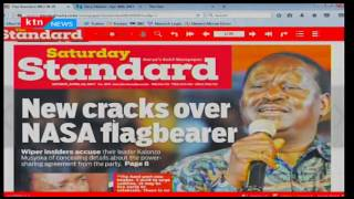 Wiper insiders accuse Kalonzo Musyoka of concealing details about party's power sharing agreement f