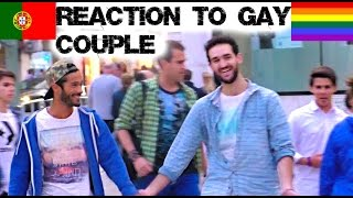 Reaction to Gay Couple in Portugal Social Experiment | Lorenzo and Pedro