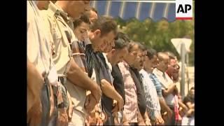 Friday prayers in Jerusalem, increased security