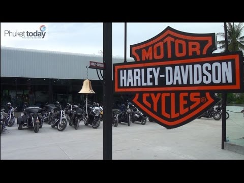 Harley-Davidson showroom opens in Phuket